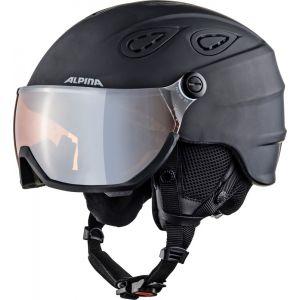 Alpina Grap Visor 2.0 HM Casque de ski Noir 54-57 cm