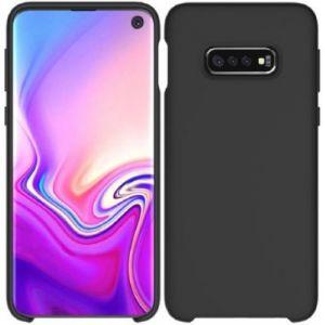 Ibroz Coque Samsung S10e Liquid Silicone noir