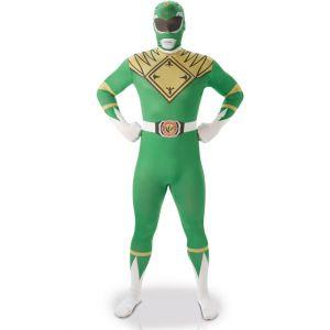 Déguisement seconde peau vert homme Taille L