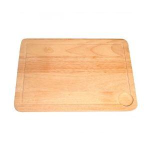 Metaltex Planche à découper en bois sans manche (34 cm)