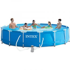 Intex 28228 - Piscine tubulaire ronde 4,57 x 0,84 m