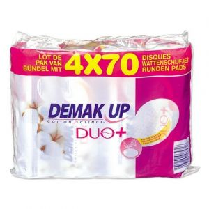 Demak Up Disques à démaquiller Duo+