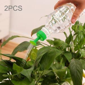 2 PCS Portable Petit En Plastique Arrosage Arroseur Bouche Bouchon De Plante Usine Ménage En Outils De Jardinage D'arrosage, Aléatoire Couleurs Livraison