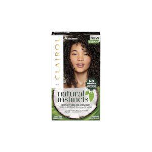 Clairol Natural Instincts Semi-Permanent Hair Dye Dark Brown 4