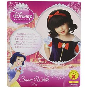 Rubie's Perruque Blanche Neige fille