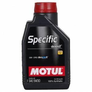 Motul Huile moteur Specific Dexos² 5W30 Essence et Diesel 1 L