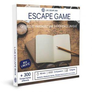 Live Escape Box Escape Game - Box liberté