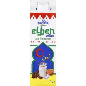 Candia Lait fermenté Elben Lacteor - La brique de 1L