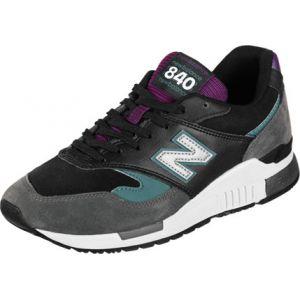New Balance Ml840 chaussures Hommes gris violet noir Gr.44 EU