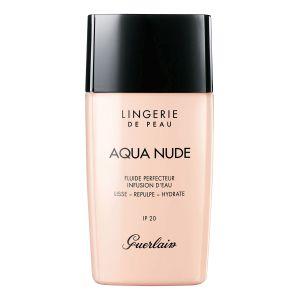 Guerlain Lingerie de Peau Aqua Nude 06W Très Foncé Doré - Fluide perfecteur infusion d'eau IP 20