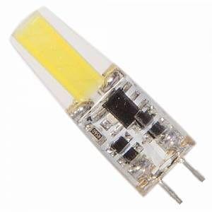 Silamp Ampoule LED G4 COB 2W 12V 360 - couleur eclairage : Blanc Chaud 2300K - 3500K