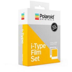 Polaroid Papier photo Originals x8Color + x8Noir et Blanc i-Type