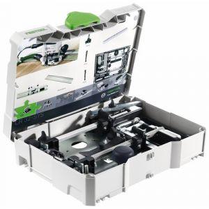Festool Kit pour le perçage de pistes perforées LR 32-SYS Compatibilité: pour OF 900, OF 1000, OF 1010, OF 1400 584100