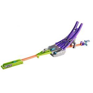 Mattel Hot Wheels - Piste lame circulaire Split Speeders