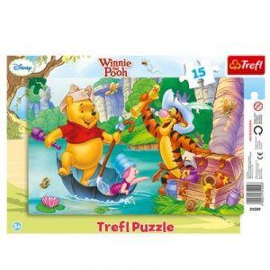 Trefl Puzzle Winnie l'Ourson (15 pièces)