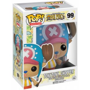 Funko Pop! TonyTony Chopper (Flocked) 9 cm - One Piece Television Vinyl Figurine