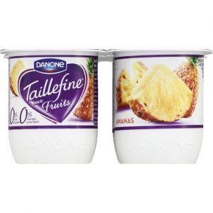 Taillefine Yaourts saveur ananas - Les 4 pots de 125g