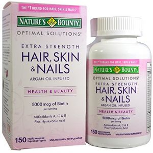 Nature's Bounty Optimal Solutions Extra Strength Hair Skin & Nails