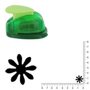 Artémio VIHCP134 Petite perforatrice à Levier 1,6 cm Fleur #3 Plastique, Multicolore, 8,5 x 5 x 12 cm