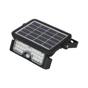 Vision-El Projecteur Led Solaire 5W (45W) Blanc neutre 4000°K Détecteur et batterie -