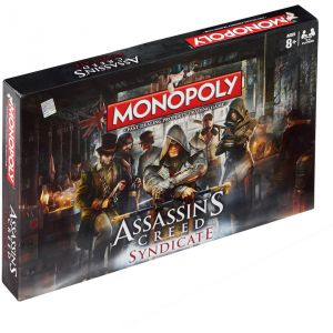 Winning Moves Monopoly Assassin's Creed Syndicate (version anglaise)