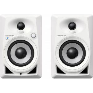 Pioneer DJ DM-40BT-W la paire