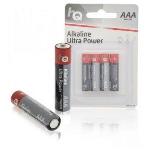 Hq LR03/4BL - Pile alcaline AAA 1.5 V 4-Blister