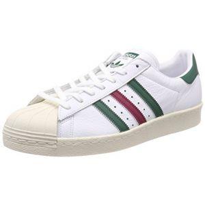 Adidas Superstar 80s Chaussures de Fitness garçon, Blanc