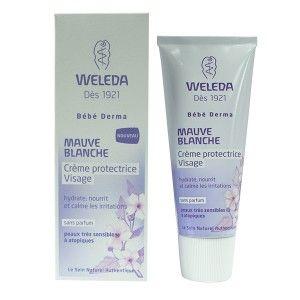 Weleda Crème protectrice visage mauve blanche 50 ml