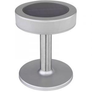 Globo Lampe d'extérieur solaire à LED terrasse de jardin balcon lampe de table en acier inoxydable 33549