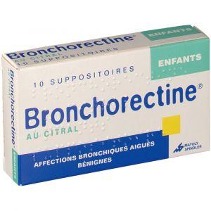 Mayoly Spindler Bonchorectine Enfants - 10 Suppositoires