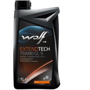 Wolf Bidon 1 litre d'huile 75W80 VITALTECH 8303609