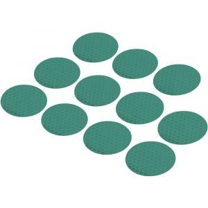 Toolcraft Disque adhésif 1564168 vert (Ø) 40 mm 11 pc(s)