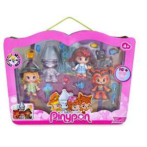 Famosa Pinypon Coffret 4 figurines Le magicien d'Oz
