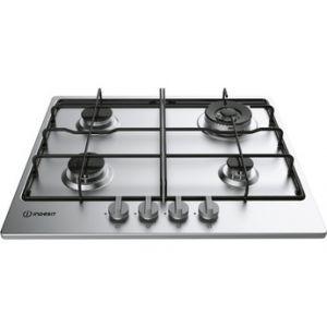 Indesit THP642IX/I - Table de cuisson gaz 4 foyers