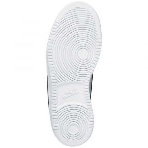 Nike Court Borough Low, Baskets garçon, Blanc