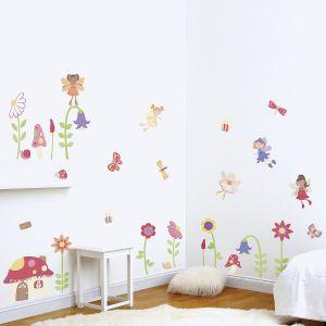 Funtosee Stickers muraux : Jardin enchanté