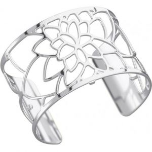 Les Georgettes Bracelet Rose Argent Large