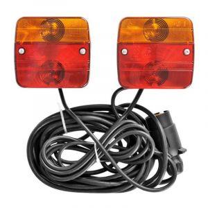 ProPlus Kit d'éclairage magnétique pour remorque 7,5 + 2,5 m 330418