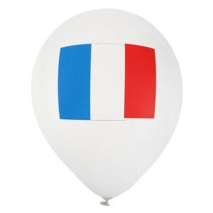 Santex 4466-1 - 8 ballons en latex France (23 cm)