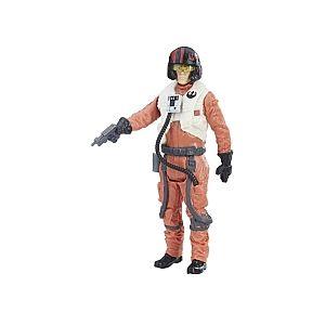 Hasbro Star Wars Episode VIII - Figurine 10 cm Héros 1 - Poe Dameron Resistance Pilot (C1507)
