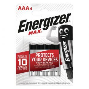 Energizer 4 Piles Max Aaa/lr03