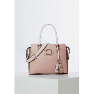 Guess Sac à main ANNARITA GIRLFRIEND SATCHEL rose - Taille Unique