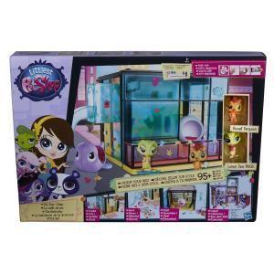 Hasbro La salle de jeu avec 2 Petshop