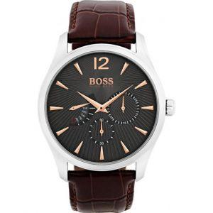 Hugo Boss 1513490 - Montre pour homme avec bracelet en cuir
