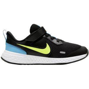 Nike Chaussures sport Revolution 5 à scratch et lacets Noir - Taille 32