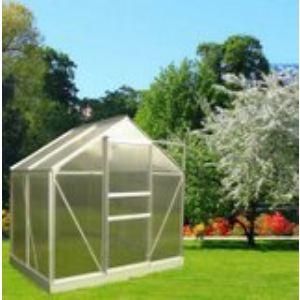 Chalet et Jardin Serre de jardin 46 en polycarbonate alvéolaire 2,28 m2