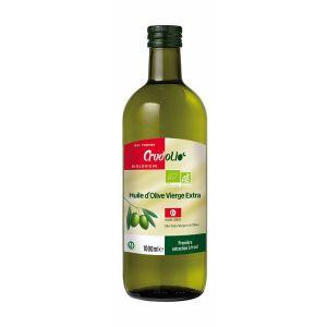 Crud'olio Huile d'olive extra vierge Tunisie 1 L