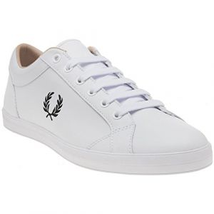 Fred Perry Baseline Leather White B3058100, Basket - 45 EU