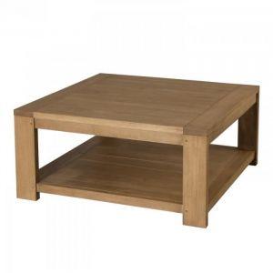 M&S Table basse carrée 80 x 80 cm sous plateau HAMBOURG ...
